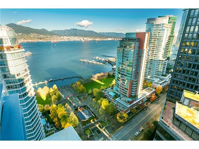 Main Photo: # 2804 1205 W HASTINGS ST in Vancouver: Coal Harbour Condo for sale (Vancouver West)  : MLS®# V1093724