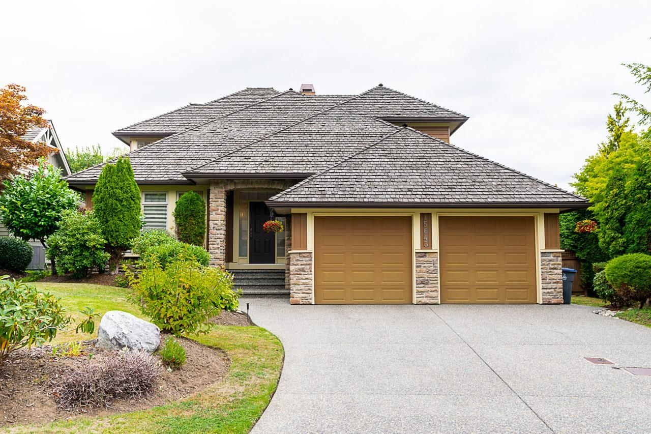 "Main Photo: 15643 37A Avenue in Surrey: Morgan Creek House for sale in ""MORGAN CREEK"" (South Surrey White Rock)  : MLS®# R2612832"