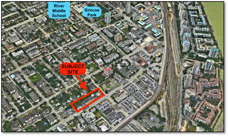 Main Photo: 301 & 325 Twelfth Street in New Westminster: Land for sale