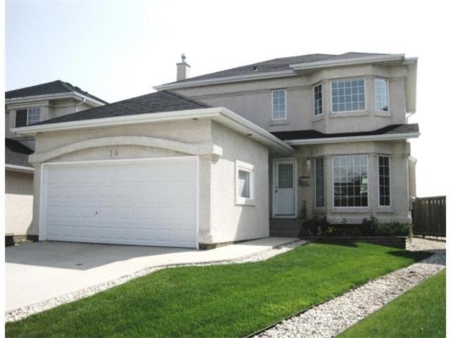 Main Photo: 14 VINELAND Crescent in WINNIPEG: Fort Garry / Whyte Ridge / St Norbert Residential for sale (South Winnipeg)  : MLS®# 1016791