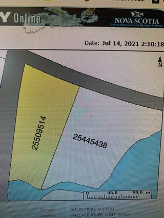 Photo 3: N/A Wallace River West Road in Wallace River West: 102N-North Of Hwy 104 Vacant Land for sale (Northern Region)  : MLS®# 202108934