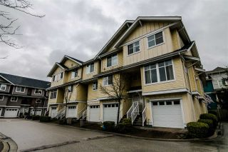 Photo 1: 4 935 EWEN AVENUE in New Westminster: Queensborough Townhouse for sale : MLS®# R2355621