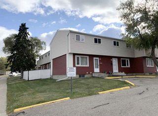 Photo 1: 68 HABITAT Crescent NW in Edmonton: Zone 35 Townhouse for sale : MLS®# E4225826