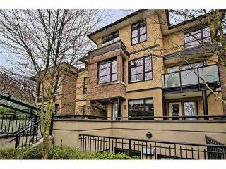 """Photo 1: 9 1863 WESBROOK Mall in Vancouver: University VW Townhouse for sale in """"ESSE"""" (Vancouver West)  : MLS®# V1107594"""