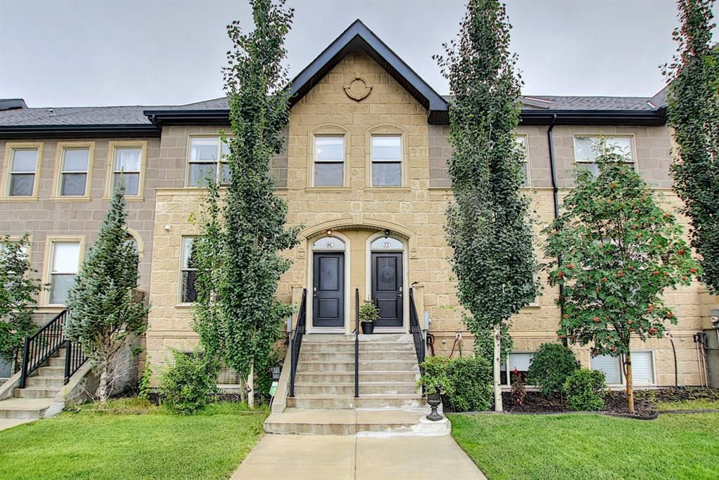 Main Photo: 81 Sage Meadow Terrace NW in Calgary: Sage Hill Row/Townhouse for sale : MLS®# A1140249