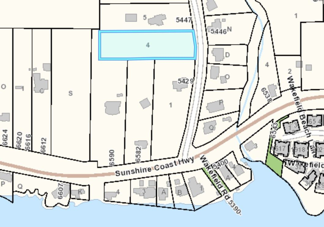 Main Photo: Lot 4 WAKEFIELD Road in Sechelt: Sechelt District Land for sale (Sunshine Coast)  : MLS®# R2428424
