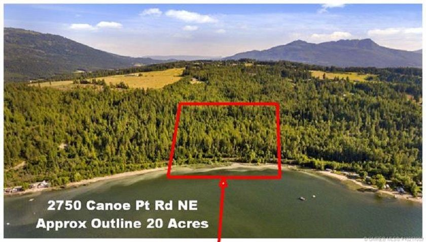 Main Photo: 2750 Canoe Beach Drive in Salmon Arm: Vacant Land for sale (NE Salmon Arm)  : MLS®# 10217002