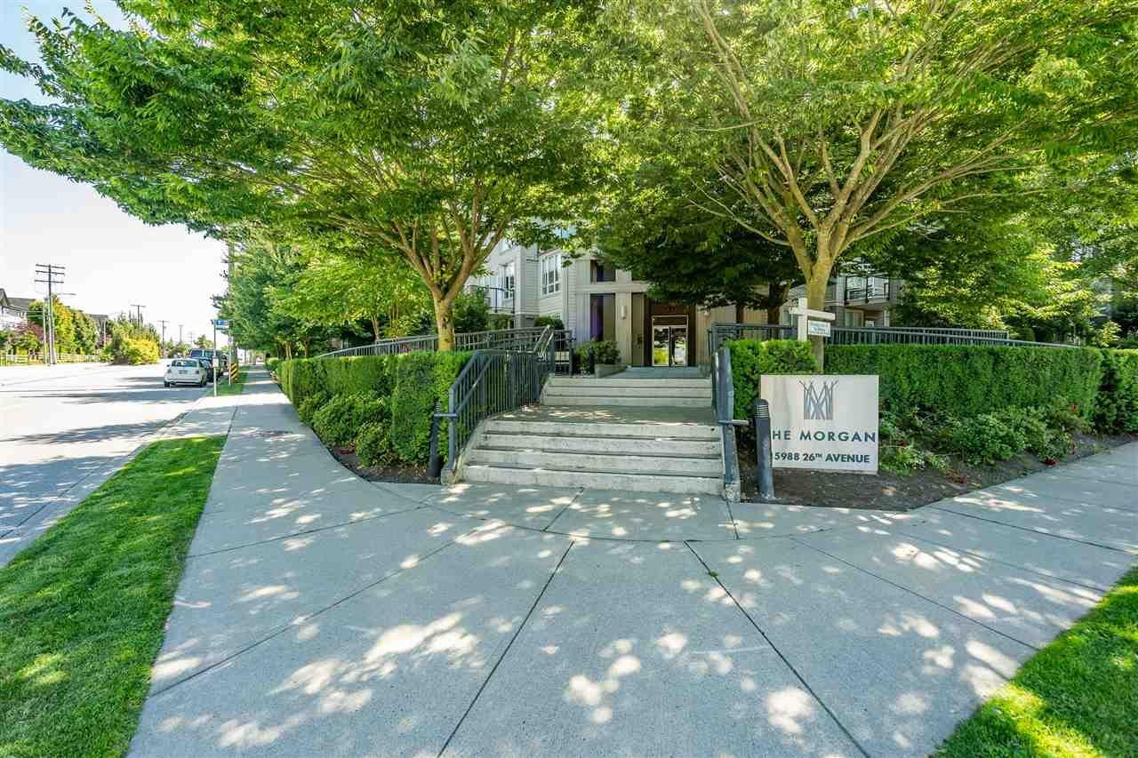 """Main Photo: 316 15988 26 Avenue in Surrey: Morgan Creek Condo for sale in """"The Morgan"""" (South Surrey White Rock)  : MLS®# R2518299"""