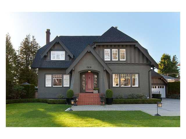 Main Photo: 5987 WILTSHIRE Street in Vancouver: South Granville House for sale (Vancouver West)  : MLS®# V995531