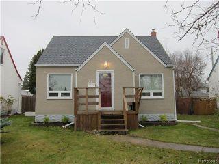 Photo 1: 377 Mandeville Street in WINNIPEG: St James Residential for sale (West Winnipeg)  : MLS®# 1530269