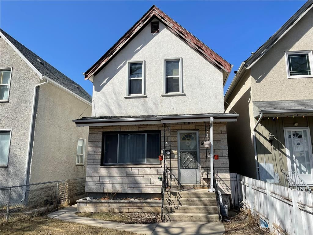 Main Photo: 664 Furby Street in Winnipeg: West End Residential for sale (5A)  : MLS®# 202107855