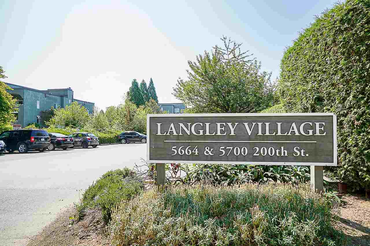 "Main Photo: 308 5664 200 Street in Langley: Langley City Condo for sale in ""LANGLEY VILLAGE"" : MLS®# R2561853"
