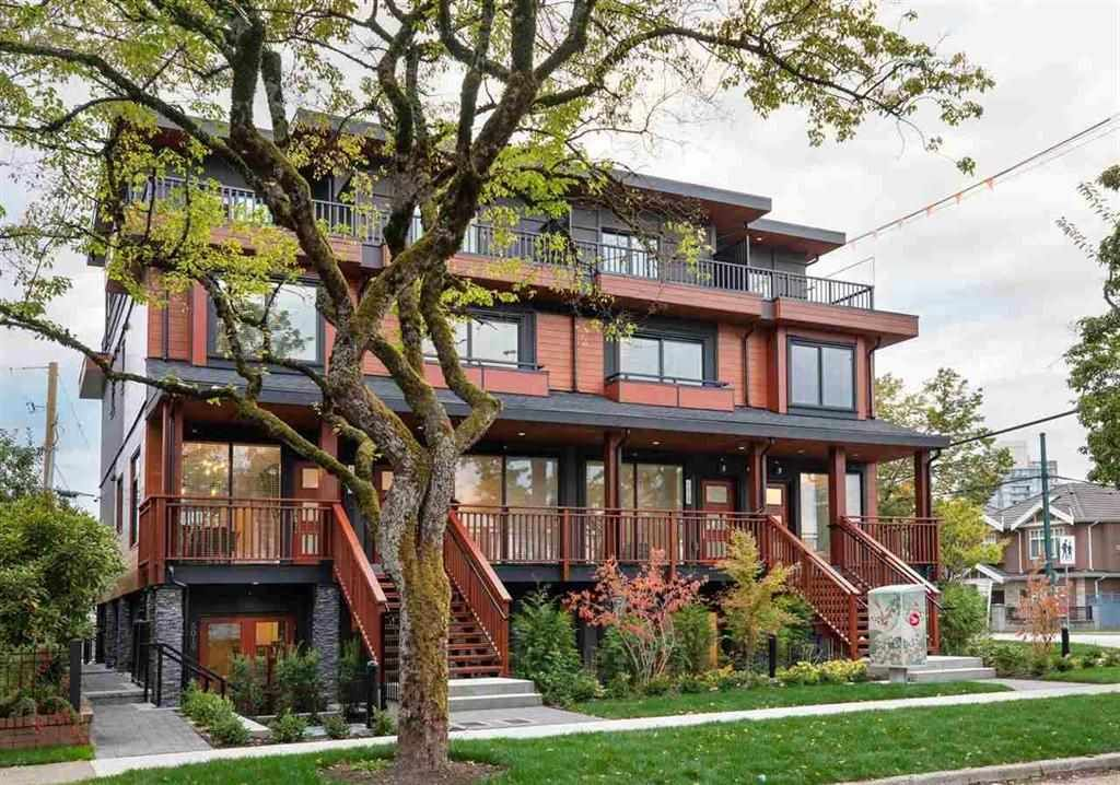 Main Photo: 2498 E 34 Avenue in Vancouver: Collingwood VE Townhouse for sale (Vancouver East)  : MLS®# R2387715