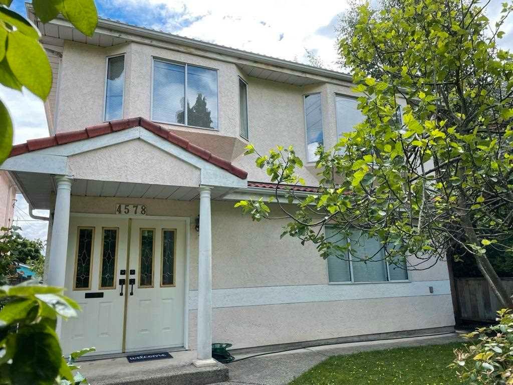 "Main Photo: 4578 WINDSOR Street in Vancouver: Fraser VE House for sale in ""Fraser"" (Vancouver East)  : MLS®# R2588377"