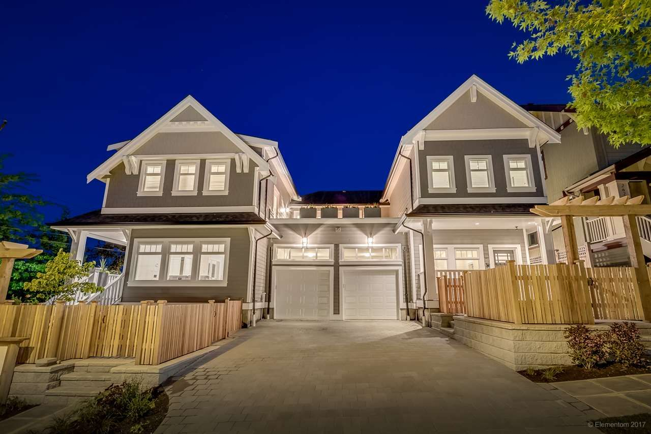 Main Photo: 2645 LAKEWOOD Drive in Vancouver: Grandview VE 1/2 Duplex for sale (Vancouver East)  : MLS®# R2202147