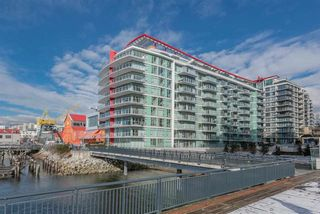 """Photo 1: 410 175 VICTORY SHIP Way in North Vancouver: Lower Lonsdale Condo for sale in """"CASCADE AT THE PIER"""" : MLS®# R2552269"""
