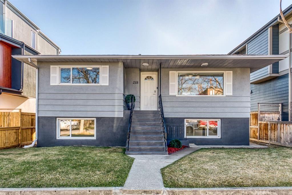Main Photo: 218 9A Street NE in Calgary: Bridgeland/Riverside Detached for sale : MLS®# A1099421