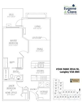 """Photo 19: 344 5660 201A Street in Langley: Langley City Condo for sale in """"Paddington Station"""" : MLS®# R2264682"""