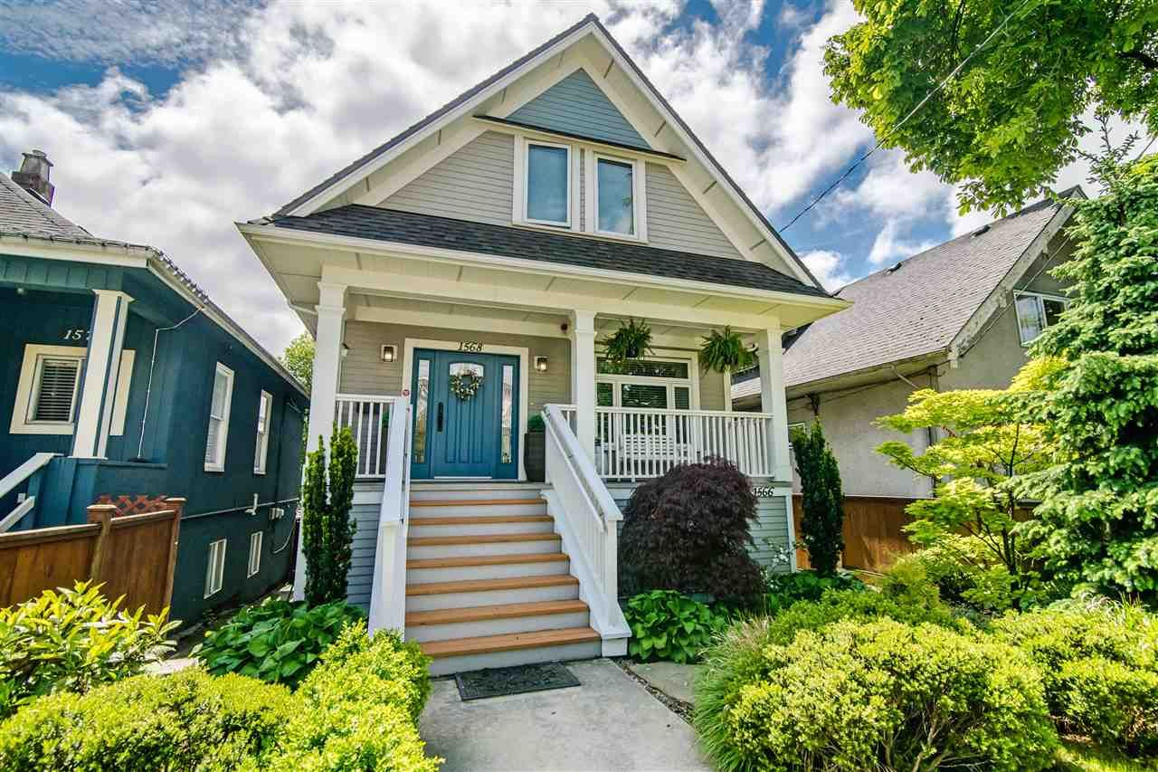 Main Photo: 1566-1568 E 11TH AVENUE in Vancouver: Grandview Woodland House for sale (Vancouver East)  : MLS®# R2373650