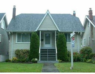 Photo 1: 3265 W 12TH AV in Vancouver: Kitsilano House for sale (Vancouver West)  : MLS®# V554580