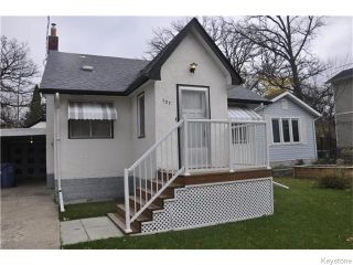 Photo 1: 137 Egerton Road in Winnipeg: St Vital Residential for sale (2D)  : MLS®# 1627570
