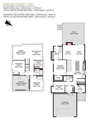 Photo 50: 2628 204 Street in Edmonton: Zone 57 House for sale : MLS®# E4248667