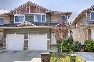 Photo 1: 6 18230 104A Street in Edmonton: Zone 27 House Half Duplex for sale : MLS®# E4253694