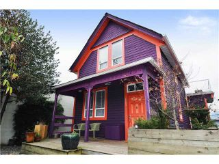 Photo 1: 35 W 6TH Avenue in Vancouver: Mount Pleasant VW House  (Vancouver West)  : MLS®# V867389