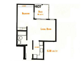 "Photo 4: 407 2920 ASH Street in Vancouver: Fairview VW Condo for sale in ""ASHCOURT"" (Vancouver West)  : MLS®# V925080"
