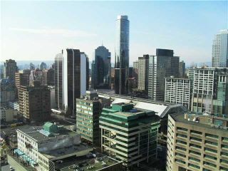 Photo 3: # 2609 833 SEYMOUR ST in Vancouver: Downtown VW Condo for sale (Vancouver West)  : MLS®# V871734