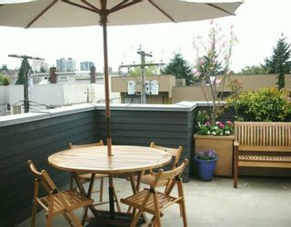 Photo 4: 1431 MAPLE ST in Vancouver: Kitsilano Townhouse for sale (Vancouver West)  : MLS®# V586615