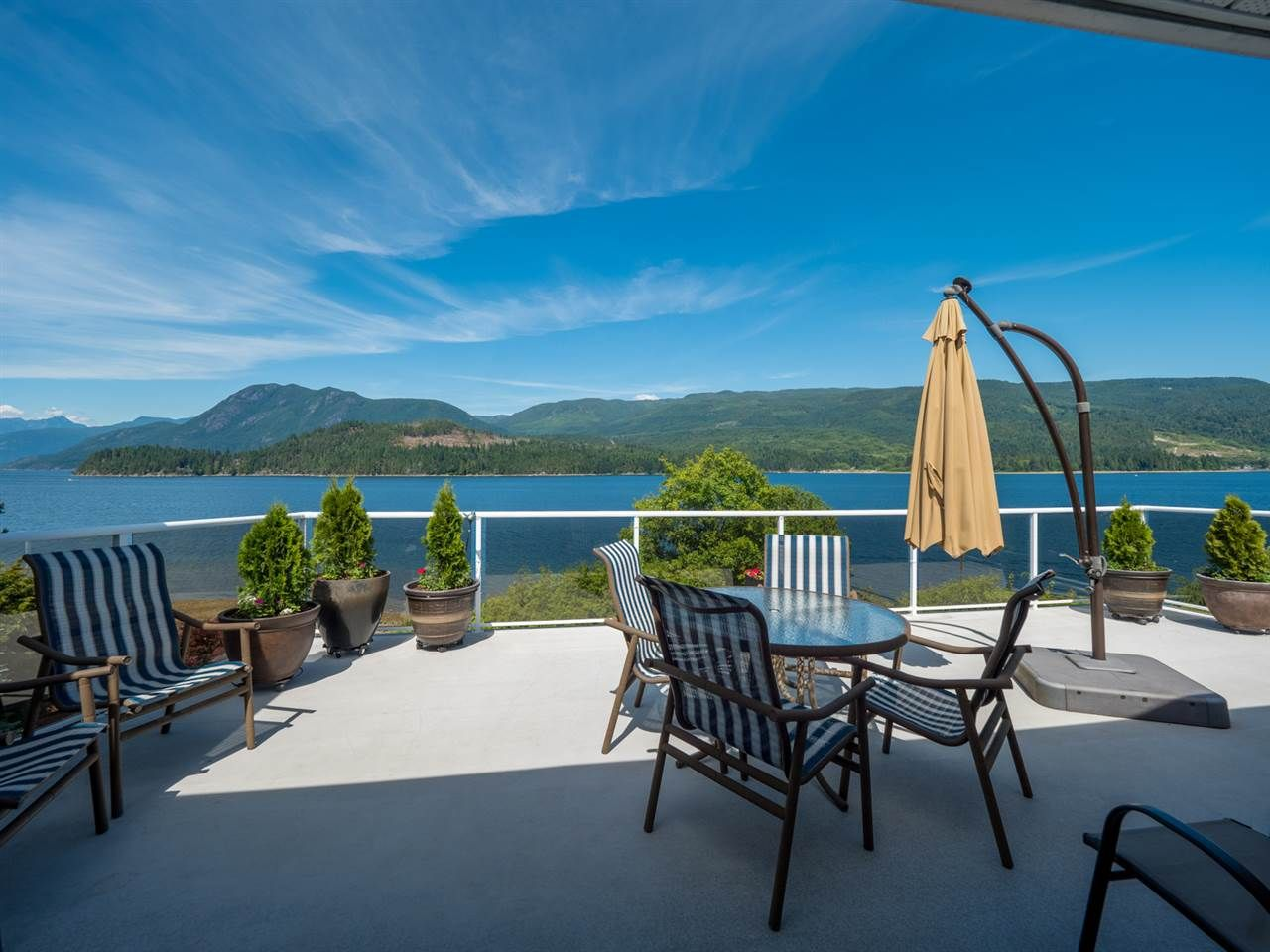 From your sundeck enjoy the views up and down the inlet.