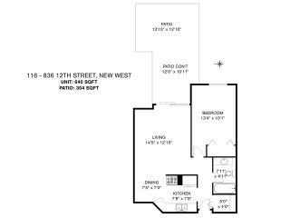 """Photo 23: 116 836 TWELFTH Street in New Westminster: West End NW Condo for sale in """"LONDON PLACE"""" : MLS®# R2579228"""
