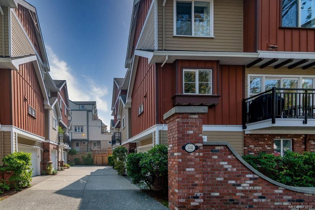 Main Photo: 3 331 Oswego St in : Vi James Bay Row/Townhouse for sale (Victoria)  : MLS®# 879237