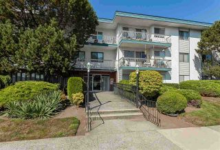 "Photo 1: 213 17707 57A Avenue in Surrey: Cloverdale BC Condo for sale in ""Frances Manor"" (Cloverdale)  : MLS®# R2440111"