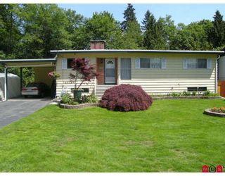 "Photo 1: 14853 BLACKBIRD Crescent in Surrey: Bolivar Heights House for sale in ""BIRDLAND"" (North Surrey)  : MLS®# F2911695"