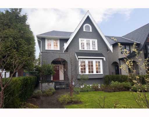Main Photo: 3475 W 26TH AVENUE in : Dunbar House for sale : MLS®# V806049