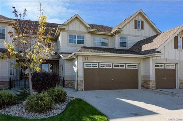 Main Photo: 167 Red Moon Road in Winnipeg: Sage Creek Condominium for sale (2K)  : MLS®# 1708896
