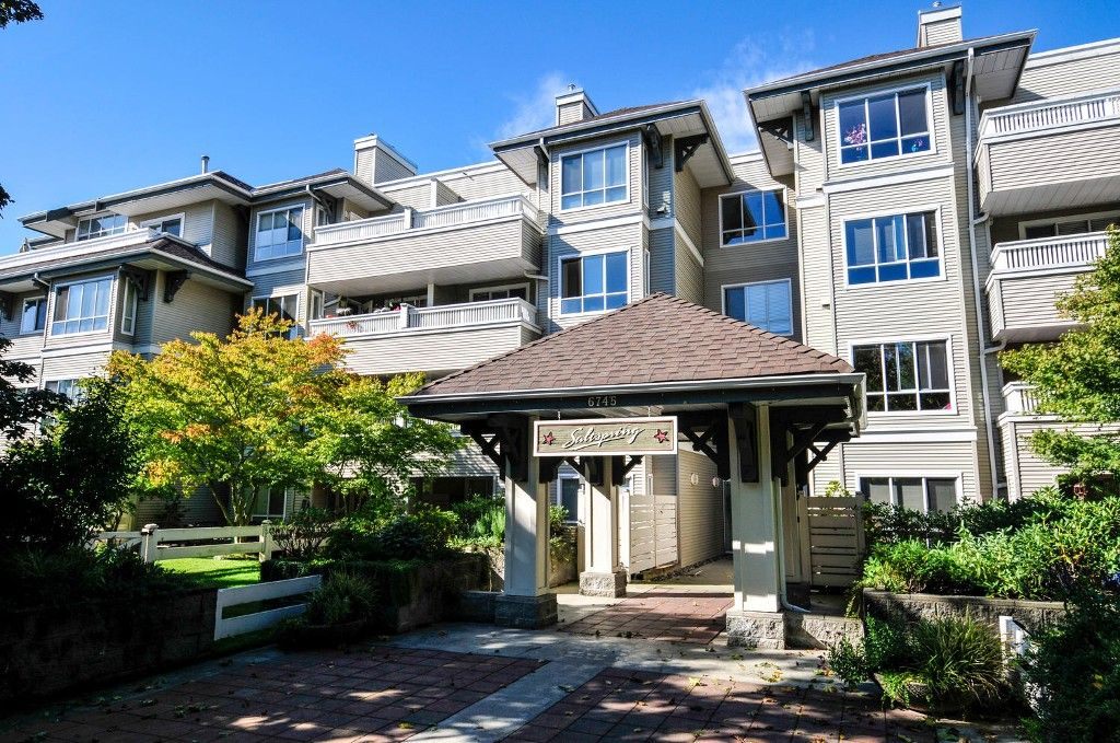 Main Photo: # 407 6745 STATION HILL CT in Burnaby: South Slope Condo for sale (Burnaby South)  : MLS®# V1087285