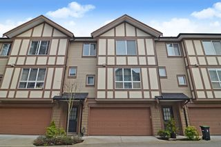 """Photo 1: 32 7848 209 Street in Langley: Willoughby Heights Townhouse for sale in """"Mason & Green"""" : MLS®# R2562486"""
