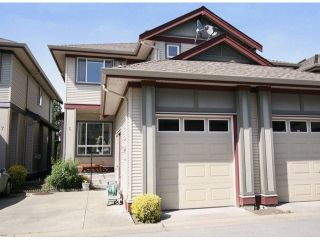 """Photo 1: 6 15168 66A Avenue in Surrey: East Newton Townhouse for sale in """"Porter's Cove"""" : MLS®# F1428816"""