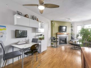 """Photo 2: 404 1562 W 5TH Avenue in Vancouver: False Creek Condo for sale in """"GRYPHON COURT"""" (Vancouver West)  : MLS®# R2211506"""