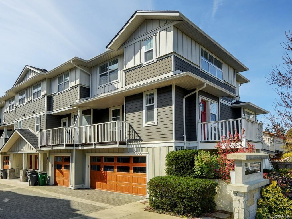 Main Photo: 14 3356 Whittier Ave in : SW Rudd Park Row/Townhouse for sale (Saanich West)  : MLS®# 866436