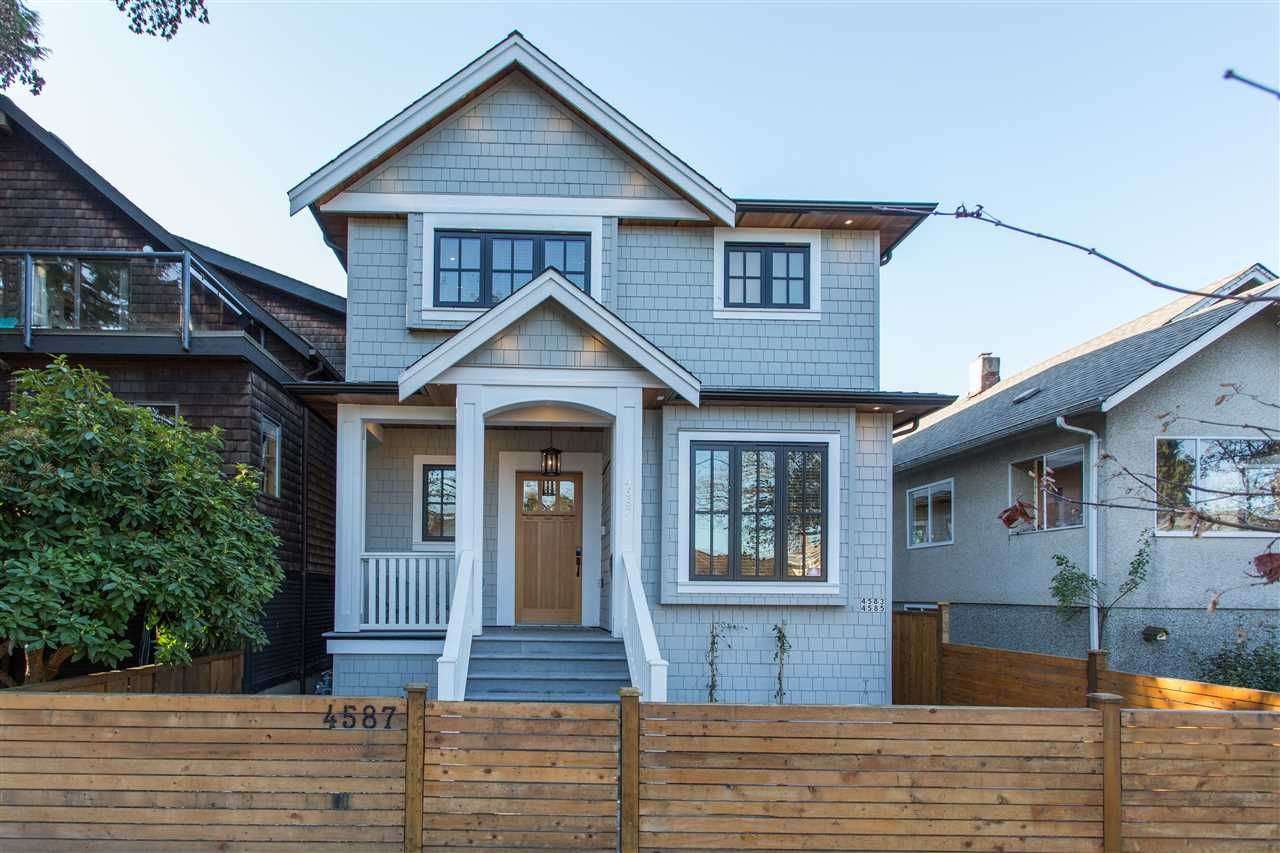 Main Photo: 4587 WALDEN Street in Vancouver: Main House for sale (Vancouver East)  : MLS®# R2428415