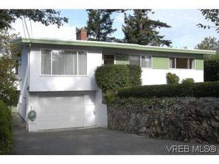 Photo 1: 2882 Wyndeatt Ave in VICTORIA: SW Gorge House for sale (Saanich West)  : MLS®# 516813