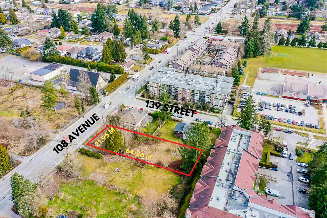 Main Photo: 13878 108 Avenue in Surrey: Whalley Land for sale (North Surrey)  : MLS®# R2545672