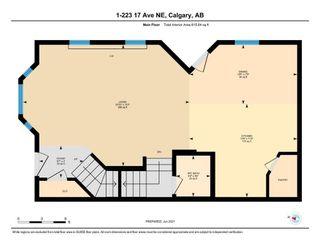 Photo 32: 1 223 17 Avenue NE in Calgary: Tuxedo Park Row/Townhouse for sale : MLS®# A1119296