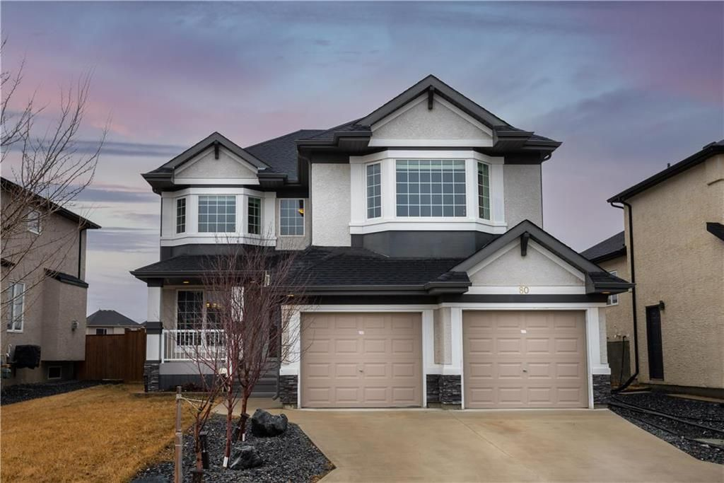 Main Photo: 80 Loewen Place in Winnipeg: South Pointe Residential for sale (1R)  : MLS®# 202106215