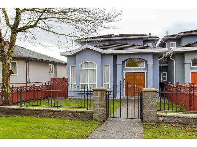 Main Photo: 7770 16TH AVE - LISTED BY SUTTON CENTRE REALTY in Burnaby: East Burnaby 1/2 Duplex for sale (Burnaby East)  : MLS®# V1113476