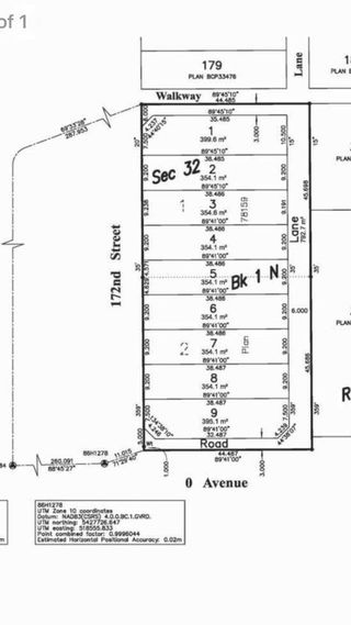 Main Photo: 42 172 Street in south surrey: Pacific Douglas Land for sale (South Surrey White Rock)